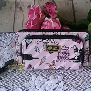Betsey Johnson Frenchie Wallet